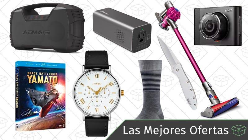 Illustration for article titled Las mejores ofertas de este miércoles: Blu-rays de Anime, batería portátil, relojes Timex y más