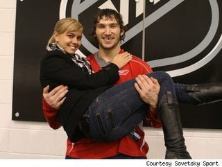 Illustration for article titled Alexander Ovechkin Should Lay Off The Dairy Products