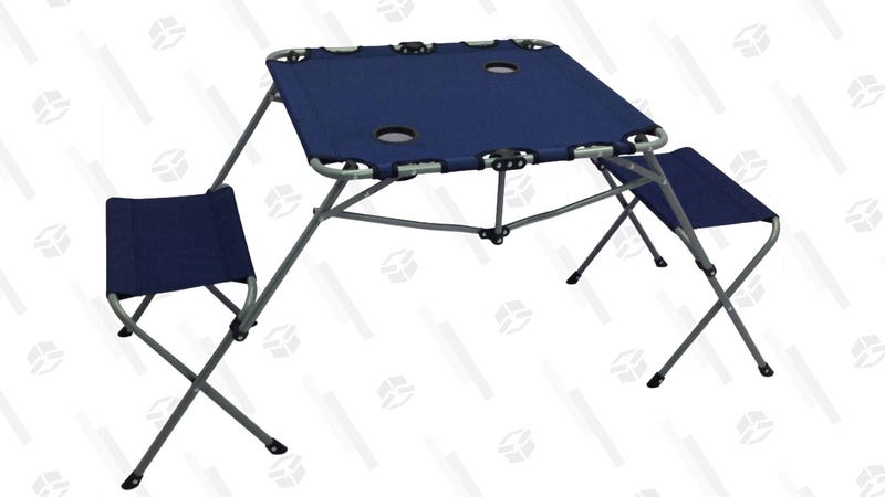 Bring This Folding Table To Your Next Tailgate For Just 16