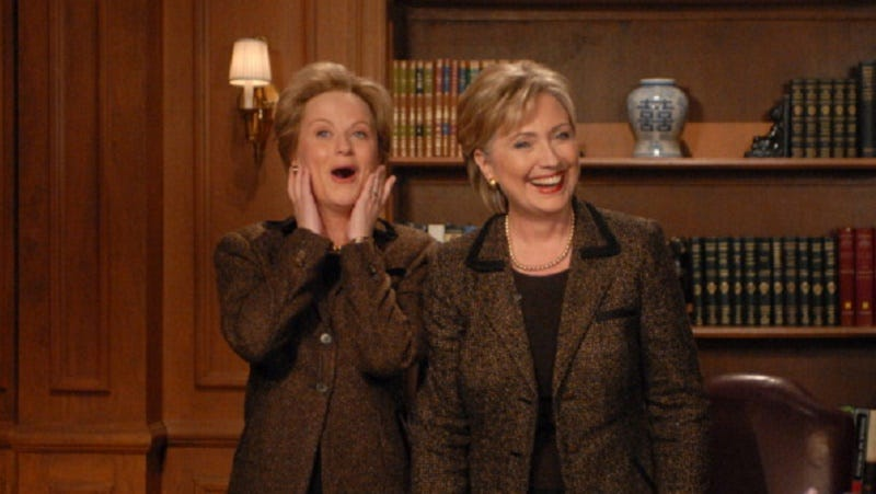 Illustration for article titled Studies in Likeability: Hillary Clinton Will Appear on Saturday Night Live