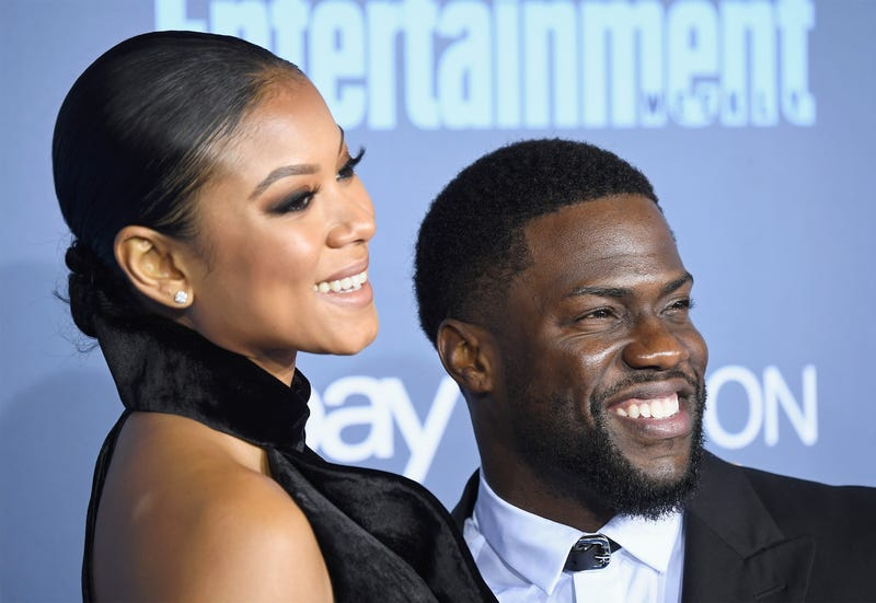 Eniko Parrish Hart and Kevin Hart  (Frazer Harrison/Getty Images)