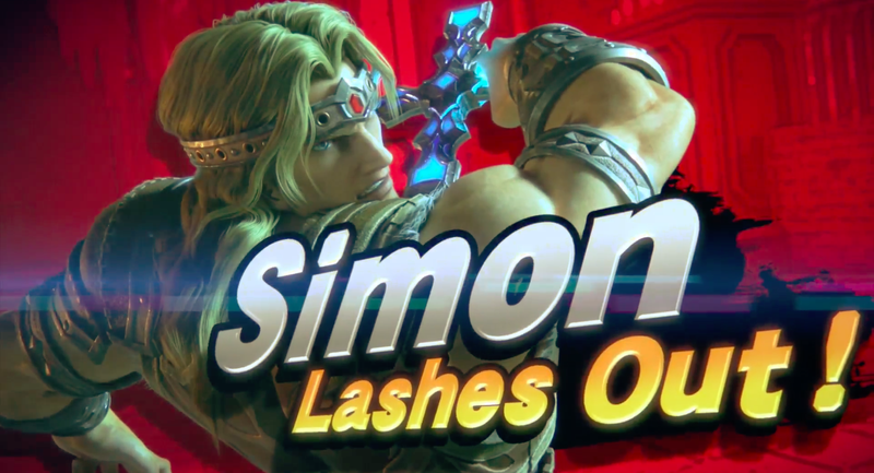 Simon Belmont Super Smash Bros Ultimate