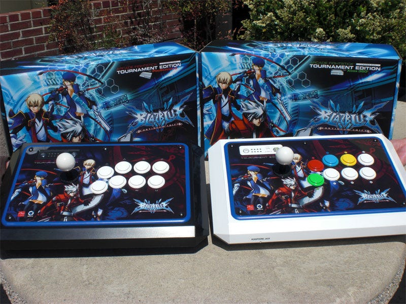 Illustration for article titled BlazBlue Gets Its Own Tournament Edition Joysticks