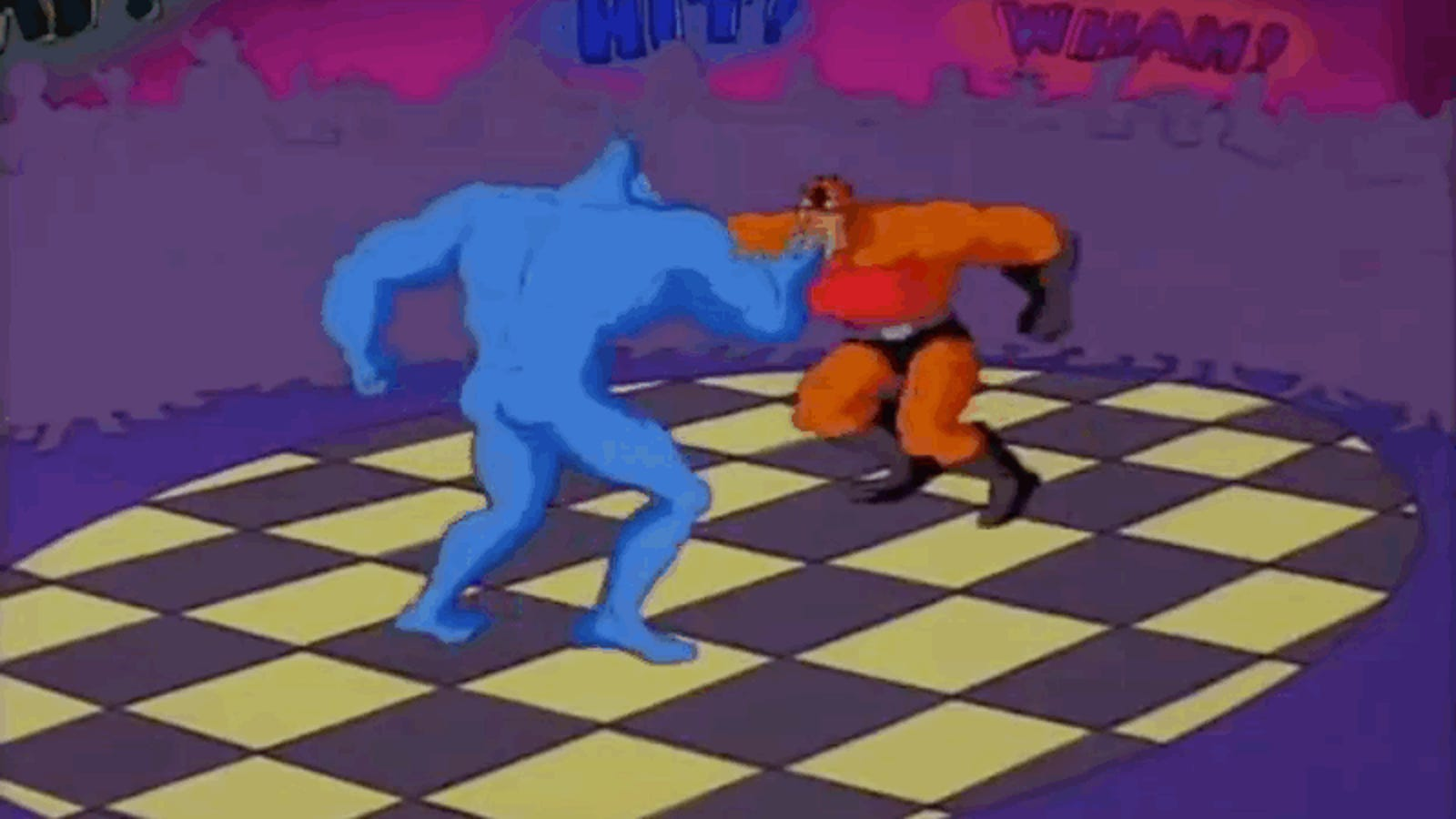 The Best Cartoon Ever Made About Superheroes Fighting Each Other