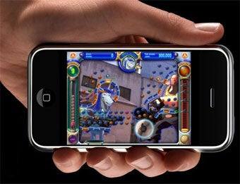 Illustration for article titled Peggle...On iPhone!