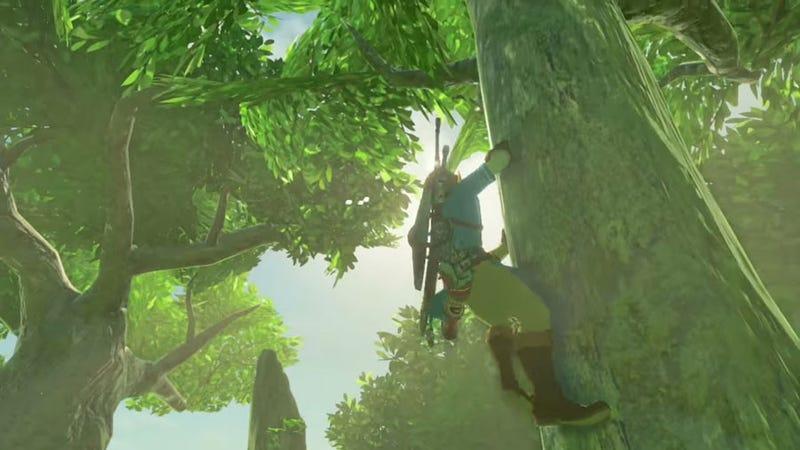 Kletterausrüstung Zelda : Was zelda breath of the wild anderen open world games beibringen kann