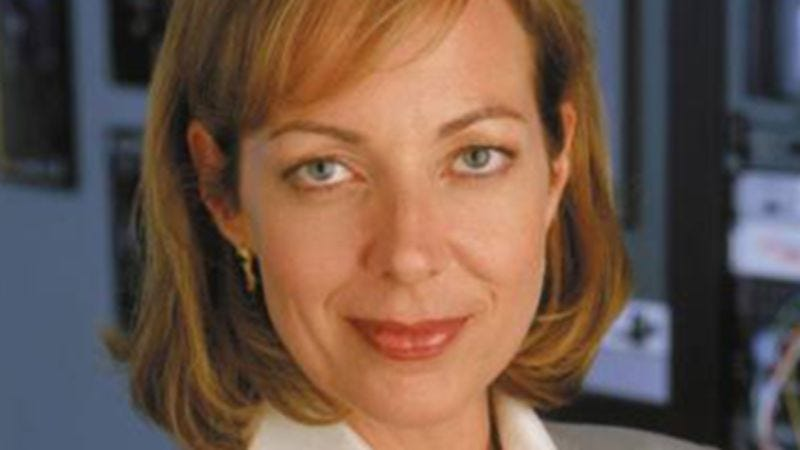 "Illustration for article titled Allison Janney channelled The West Wing, performed ""The Jackal"" on Arsenio last night"
