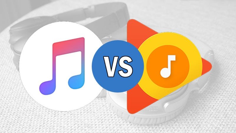 Image result for apple music vs google music apple