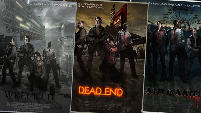 Illustration for article titled Seven Left 4 Dead Posters From An Alternate Universe