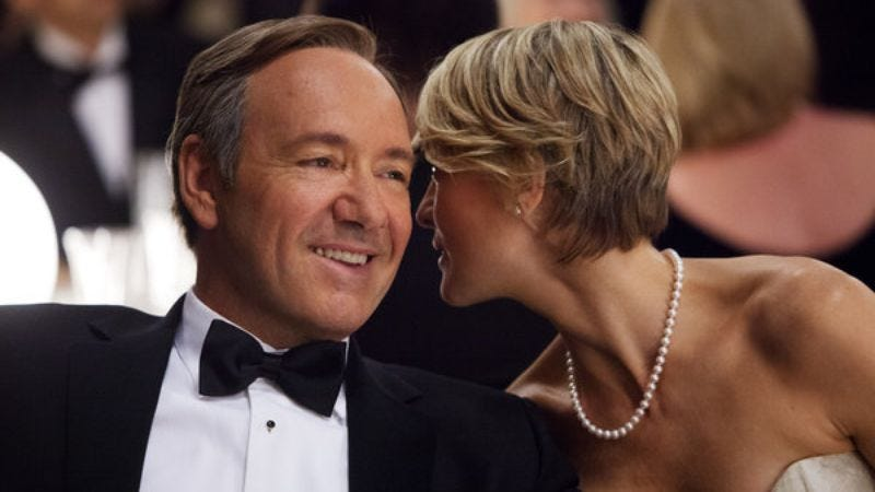 Illustration for article titled Netflix to debut David Fincher's House Of Cards in one big lump in February