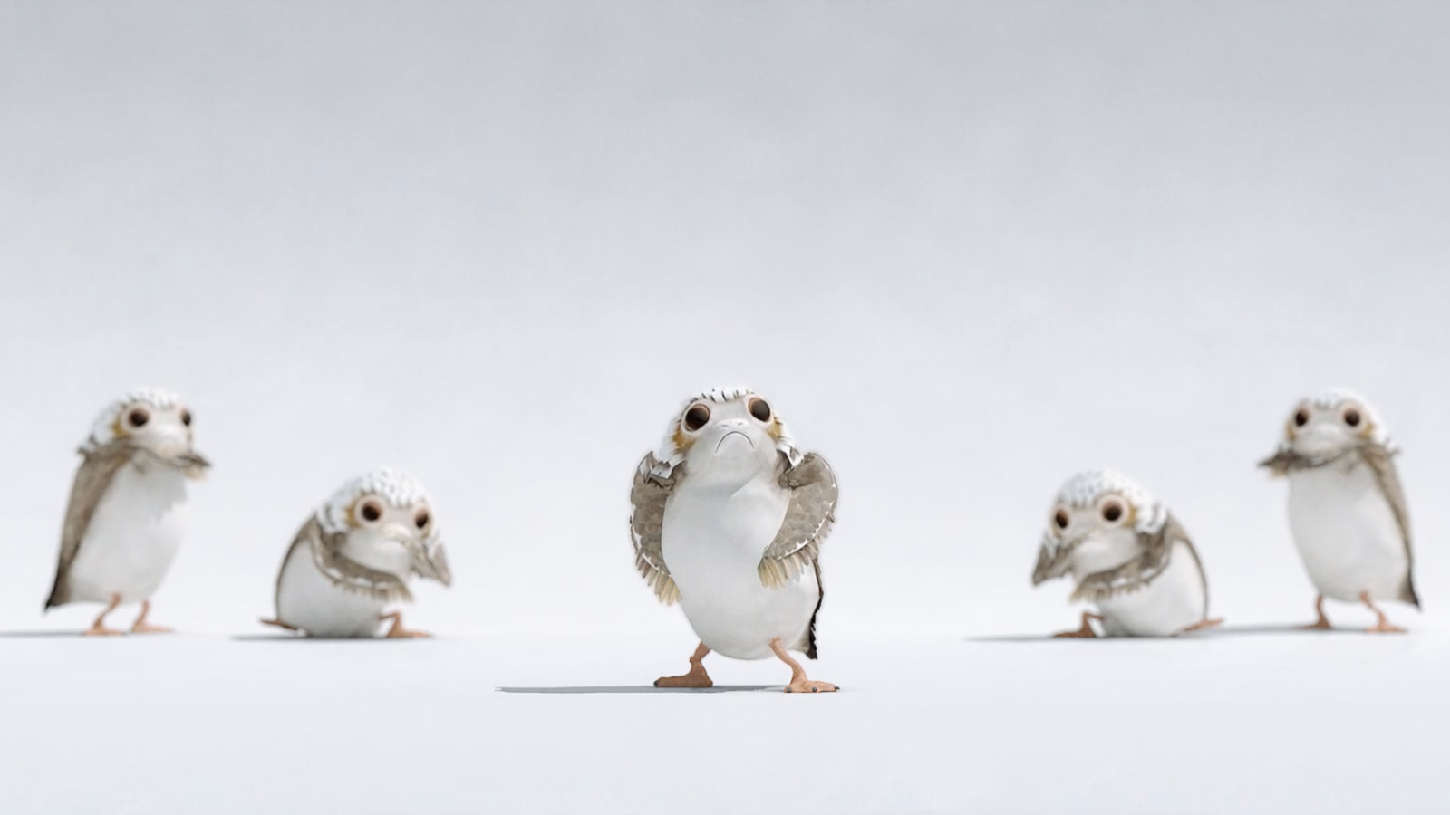 Your Day Can Always Be Improved With Dancing Porgs