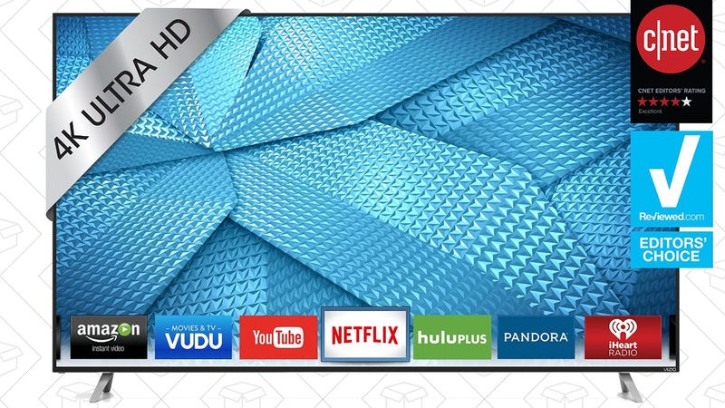 "VIZIO M-Series 60"" 4K TV, $800"