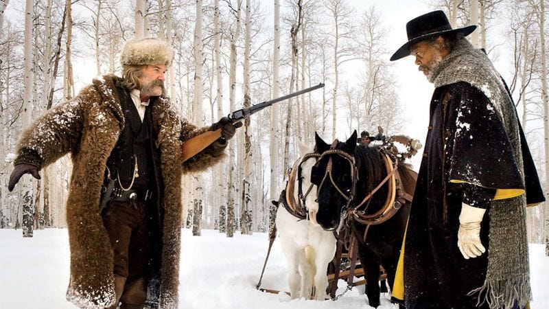 Illustration for article titled The Hateful Eight's 70mm run could cost up to $80,000 per screen