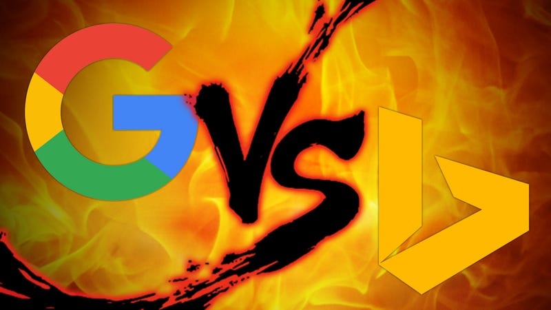 Illustration for article titled Search Engine Showdown: Google vs. Bing