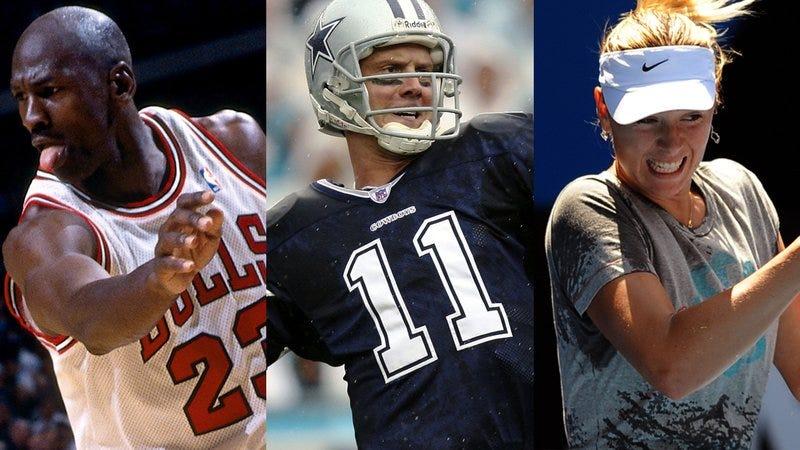 Three very good athletes.