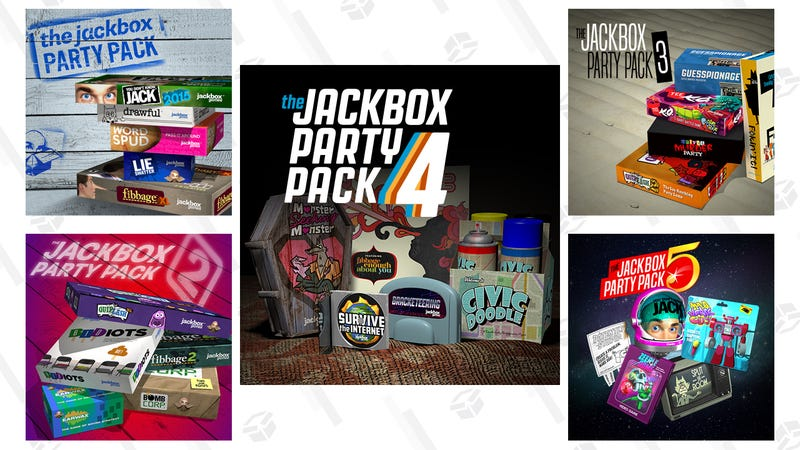 Illustration for article titled All of the Jackbox Party Packs, Ranked By Their Best Games