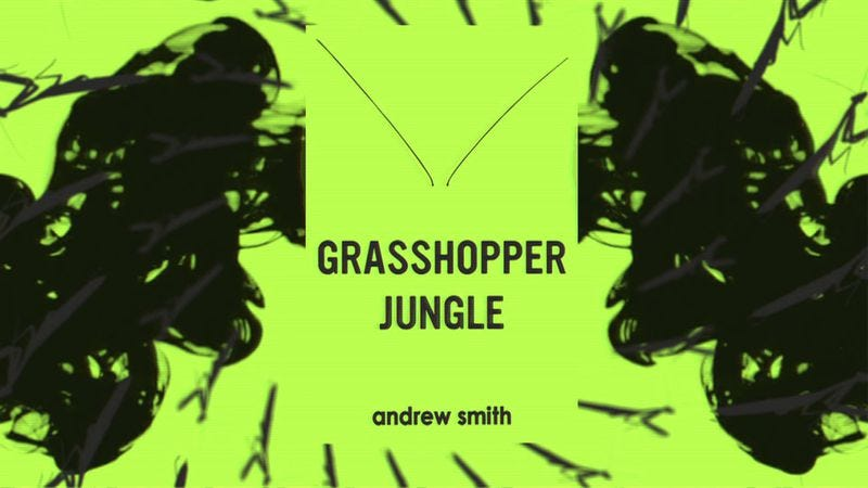 Illustration for article titled Win a copy of Andrew Smith's Grasshopper Jungle