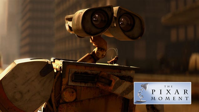 """We fell in love with WALL-E because of how Pixar """"filmed"""" him"""