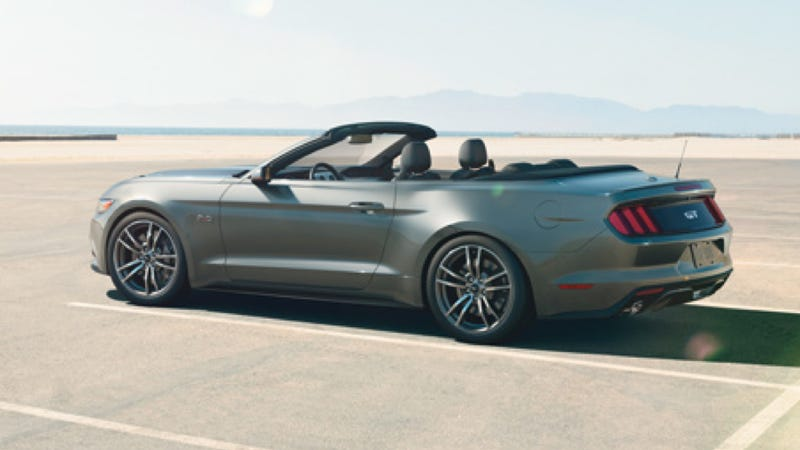 Illustration for article titled 2015 Ford Mustang Convertible: This Is It