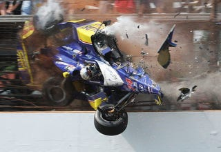 Illustration for article titled The Ten Most Infamous Crashes In Racing