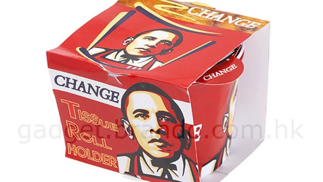 Why Is Brando Selling Obama's Face on a @%$#&*% KFC Bucket?!