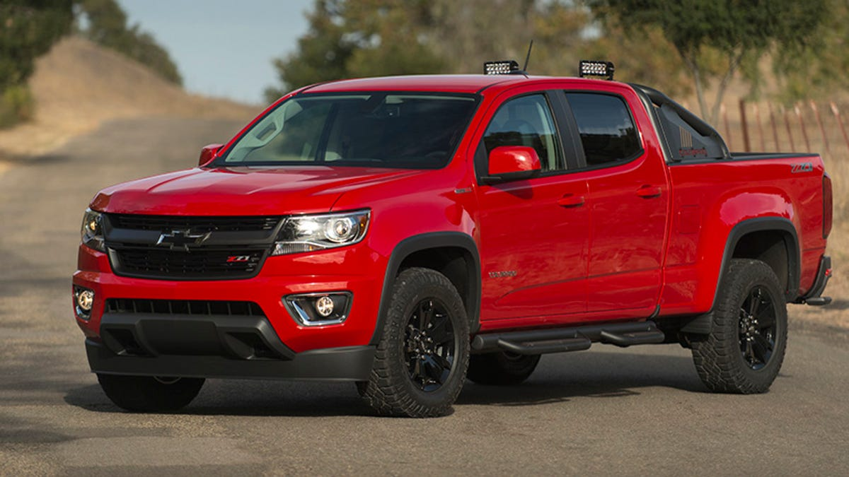 2016 Chevy Colorado Diesel: All The Right Sounds And Damn