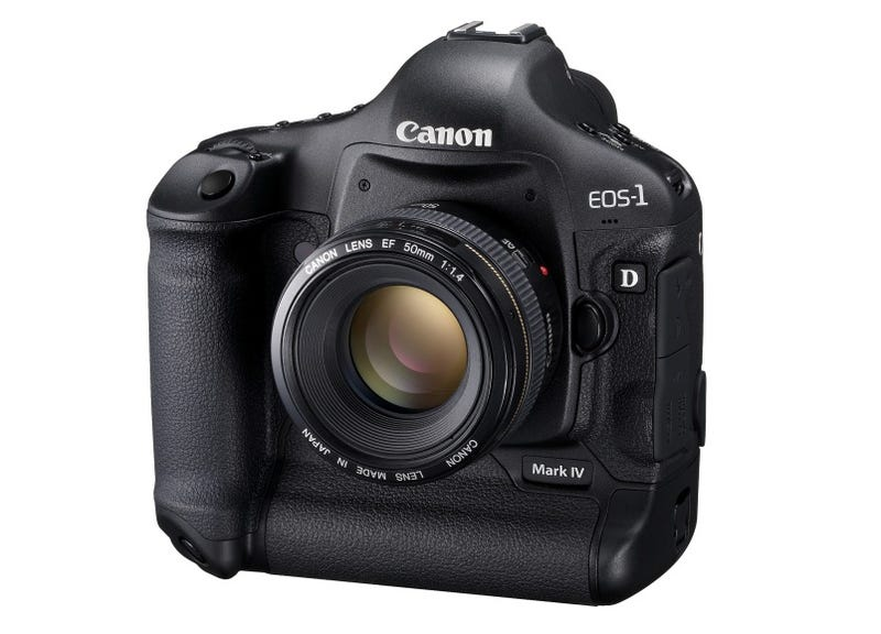 Illustration for article titled Canon 1D Mark IV: The $5000 New King of Cameras