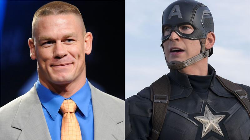 Illustration for article titled La persona que menos esperabas podría ser el nuevo Capitán América: John Cena