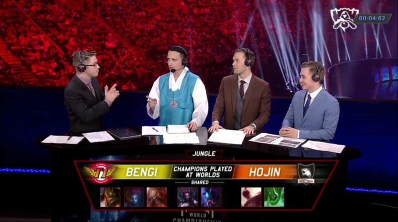 Suits? You Don't Need Suits For League Of Legends