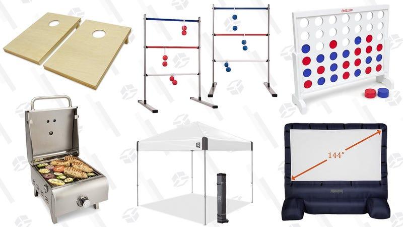 Tailgating Gold Box   Amazon