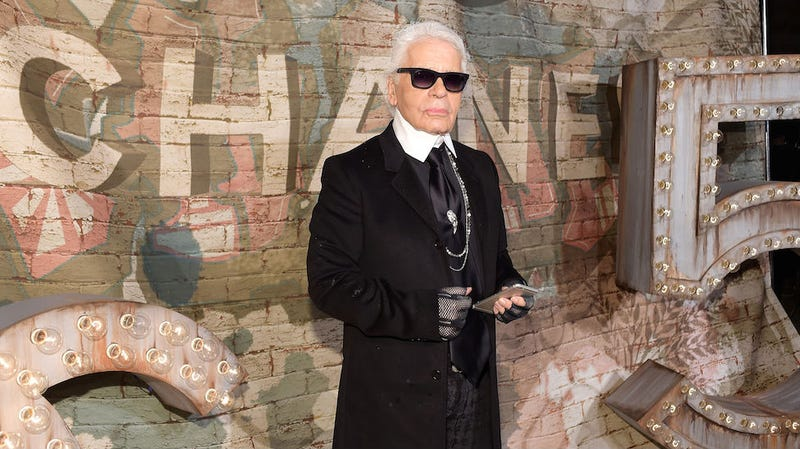 Illustration for article titled Karl Lagerfeld Says Feminist Protest Wasn't 'Unpleasant or Left-Wing'
