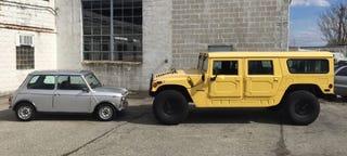 Illustration for article titled Comparison Test: Original Mini vs. Original Hummer