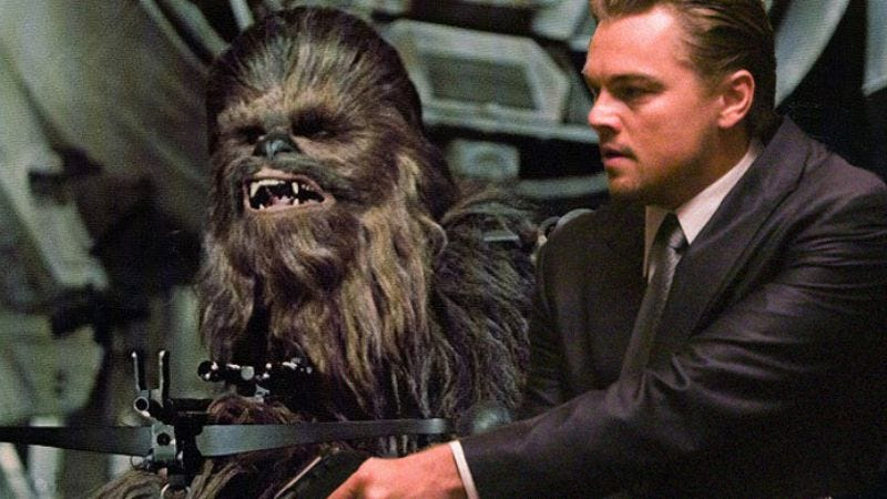Illustration for article titled Leonardo DiCaprio and Chewbacca top this year's Black List