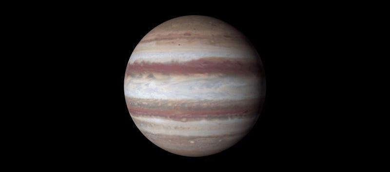 La NASA muestra detalles nunca antes vistos de Júpiter, en un glorioso vídeo en 4K