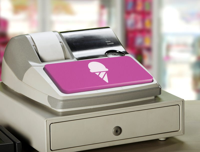 Illustration for article titled Baskin-Robbins' Cash Register Interface Just Big Button For Ice Cream