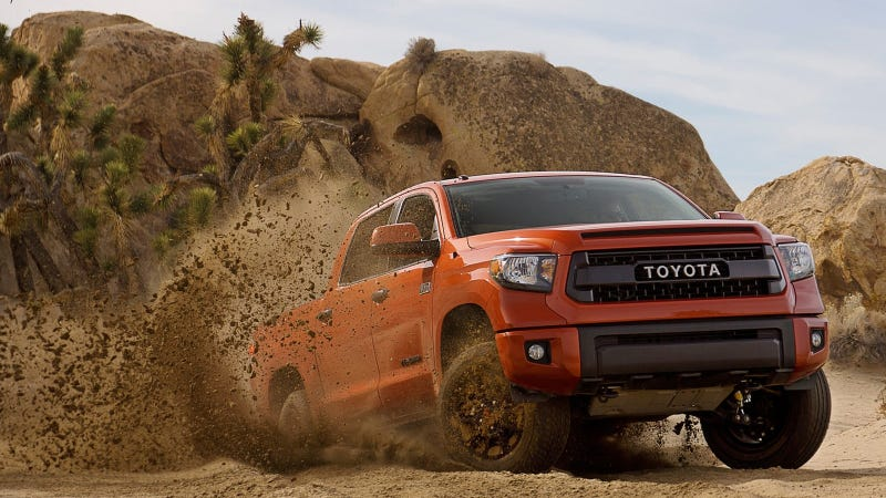 Illustration for article titled Toyota Tacoma Sales Sputter, But Tundra Is Crushing Nissan Titan
