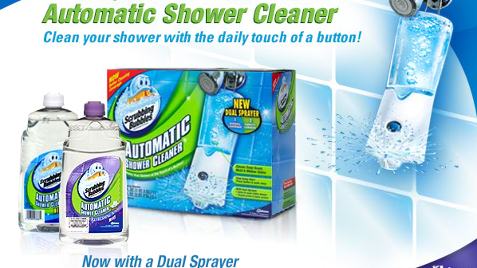Review Scrubbing Bubbles Automatic Shower Cleaner Is The