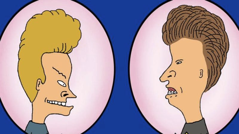 Illustration for article titled MTV forgot to give Beavis And Butt-Head the week off, apparently