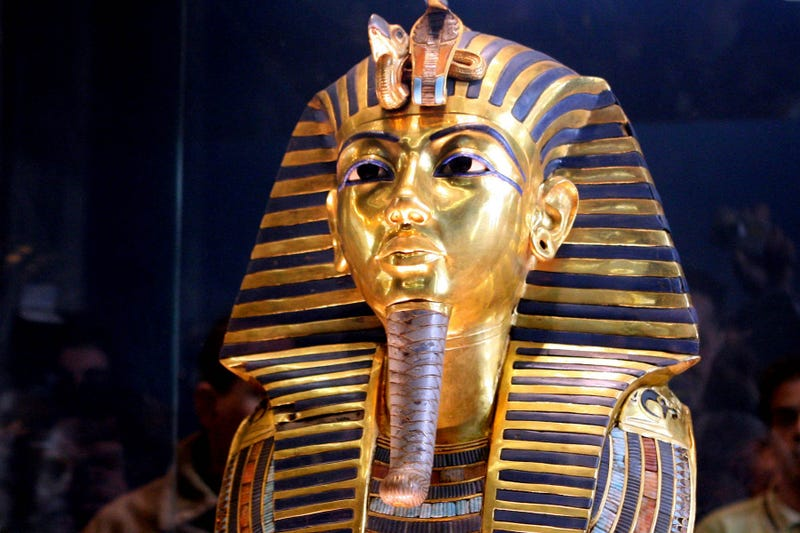 "Illustration for article titled King Tut's Burial Mask Has Been ""Irreversibly Damaged"""