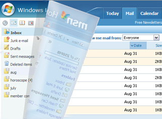 Illustration for article titled Microsoft launches Windows Live Hotmail