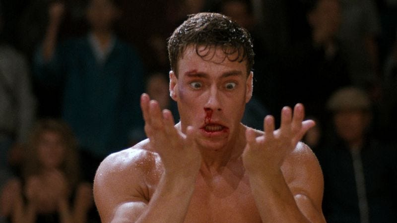 Illustration for article titled A super-cut of everyone Jean-Claude Van Damme has ever (fictionally) killed