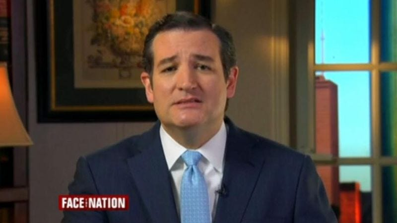"""Illustration for article titled Ted Cruz warns that Democrats could """"criminalize"""" Saturday Night Live"""