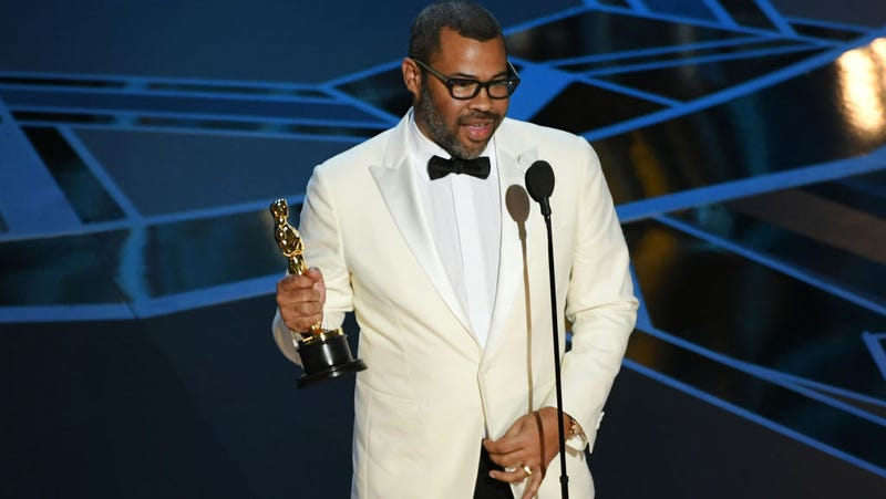 Illustration for article titled Jordan Peele just became the first black writer to win Best Original Screenplay