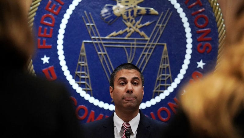 FCC Chairman and former Verizon lawyer Ajit Pai. Photo: Getty