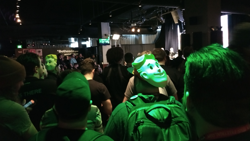 Fans line up to hear how Bethesda plans to save Fallout 76.