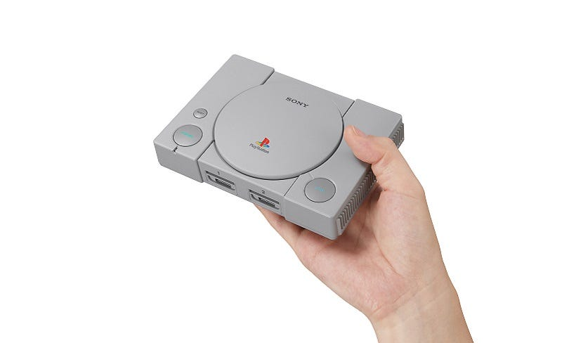 Illustration for article titled PlayStation Classic Gets Huge Price Cut, Which Says A Lot