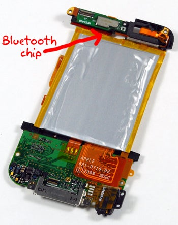 Illustration for article titled iPod Touch v2 Secretly Has Bluetooth, But Will Apple Enable It?