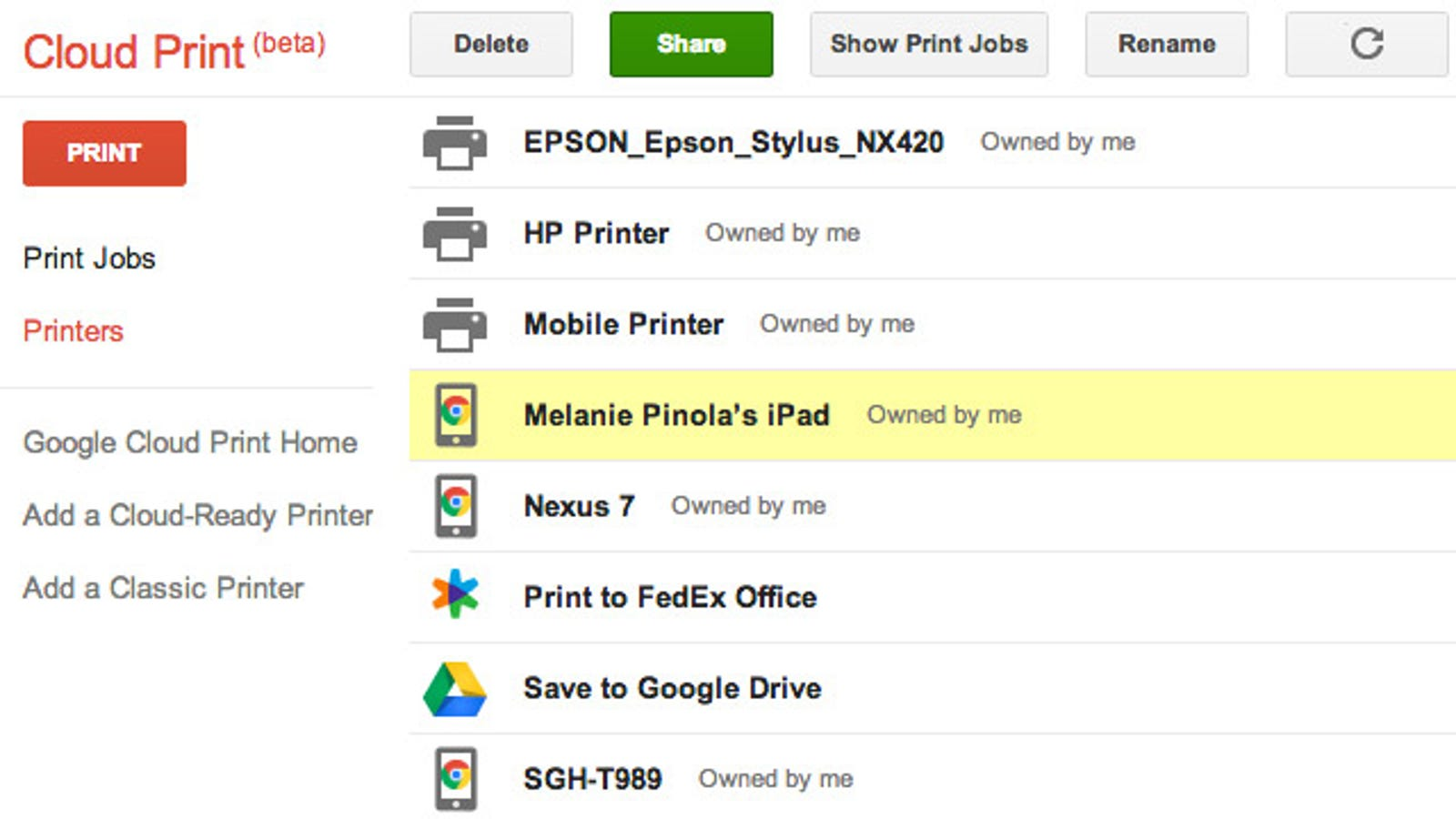 Use Google Cloud Print to Quickly Save Files as PDFs on Your Mobile