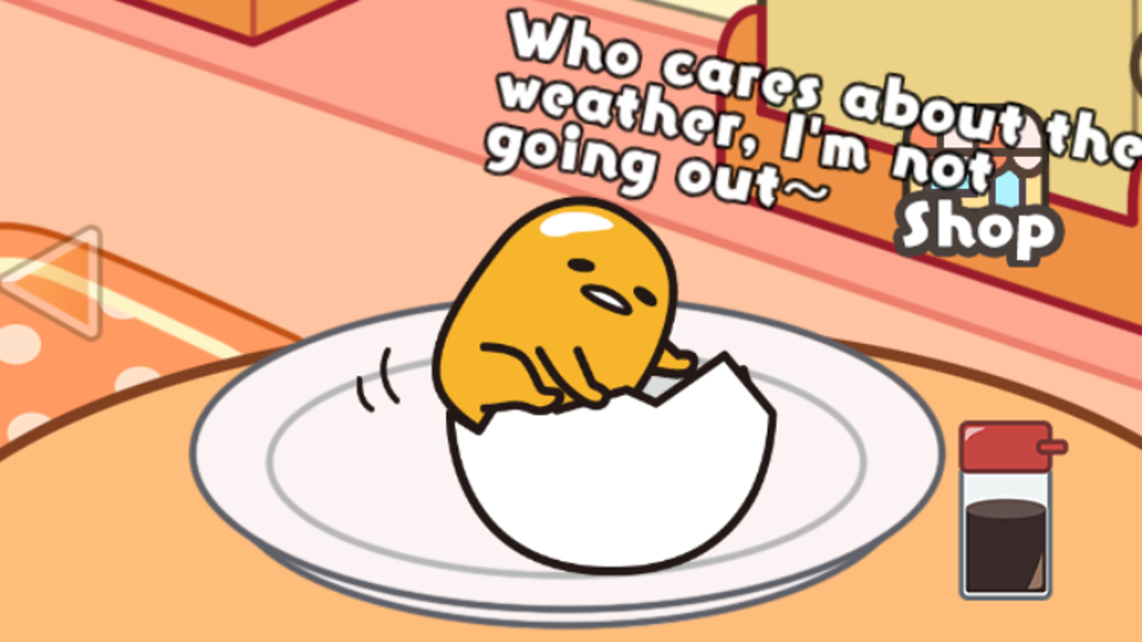 Gudetama super cute. The game is as