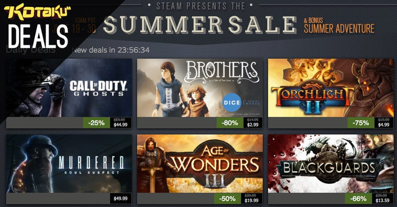 Illustration for article titled Steam Summer Sale Day 6, Injustice Vol. 1, and a Really Cheap TV